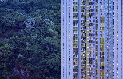 Romain Jacquet-Lagrèze, ''The Blue Moment #2' Hong Kong', 2016