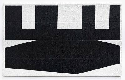 Michael Wall, 'Grid III Black on White', 2019