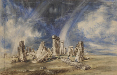 John Constable, 'Stonehenge', ca. 1835
