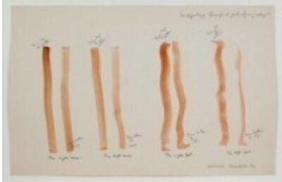 Osvaldo Romberg, 'One Typology through four parts of my body', 1976