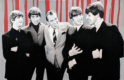 Steve Kaufman, 'THE BEATLES DEBUT ON ED SULLIVAN 1964', 1995-2005