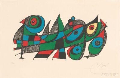 Joan Miró, 'Miró sculpteur', 1974