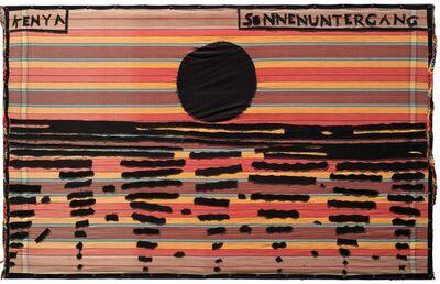Aldo Mondino, 'Kenya Sonnenuntergang', 1989