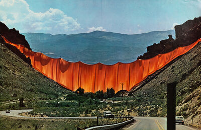 Christo and Jeanne-Claude, 'Wrapped Walkway: Kansas City, Missouri and Valley Curtain'