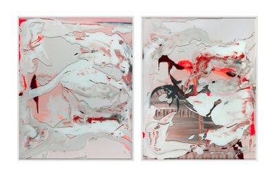 Michael Müller, 'Nr. 3 & 4, The shoulder on which to bear time', 2019/2020