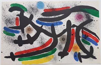 Joan Miró, 'Litografia Original IX', 1975