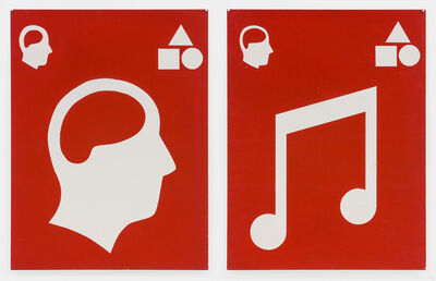Matt Mullican, 'Untitled (Signs)', 1981