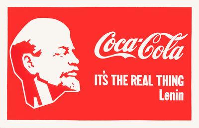 Alexander Kosolapov, 'Lenin-Coca-Cola', 1987