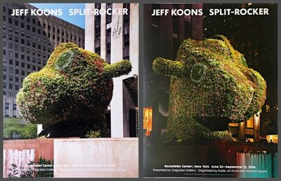Jeff Koons, 'Split - Rocker (Hand Signed)', 2014