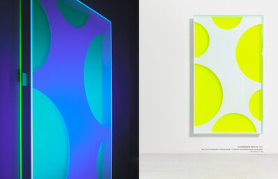Regine Schumann, 'Colormirror mesh 02', 2021