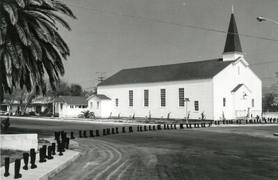 Eleanor Antin, '100 Boots Go to Church', 1971