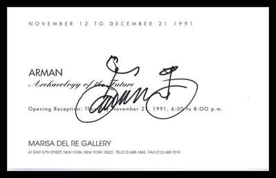 Arman, 'Bicycle Drawing ', 1991