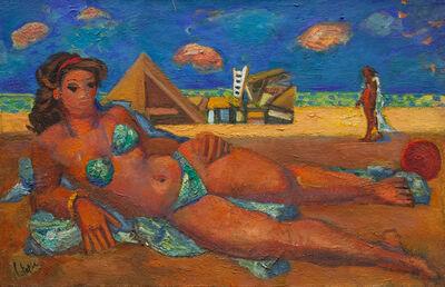 Louis Latapie, 'Camping', 1957