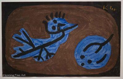 Paul Klee, 'Blauer-Vogel-Kürbis - (Blue Bird Pumpkin)', 1964