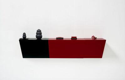 Haim Steinbach, 'popular mechanics', 2015