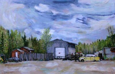 Marjorie Scholl, 'Metal Yard', 2014