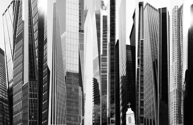 Frederick Hodder, 'Manhattan Shards', 2014