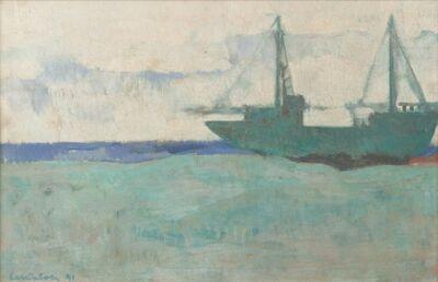 Domenico Cantatore, 'Untitled (Boat)', 1991