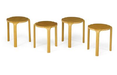 Alvar Aalto, 'Alvar Aalto For Artek/Icf Nesting Tables', ca. 1980s