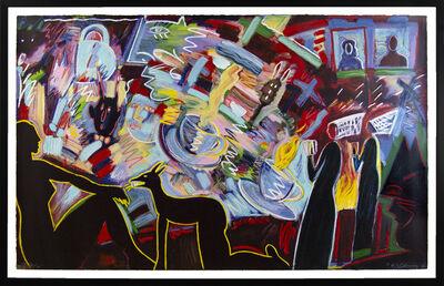 Carlos Almaraz, 'Pleasure Is Mine (Tea Cups)', 1990