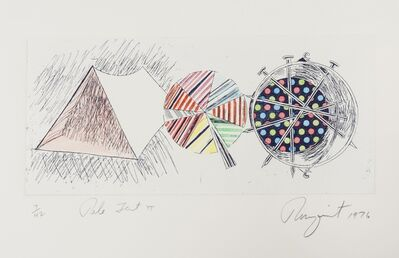 James Rosenquist, 'Pale Tent II', 1976