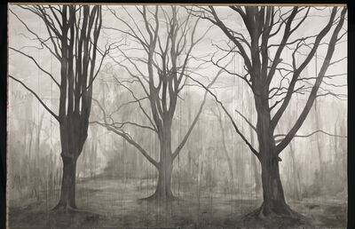 George Shaw (b. 1966), 'Hanging Around (Landscape without Figures)', 2012