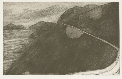 Maria Simonds-Gooding, 'Road On The Blasket Island', signed