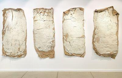 Erika Ostrander, 'Compression (Blue Book)', 2016