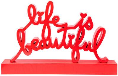 Mr. Brainwash, 'Life is Beautiful - Red', 2020