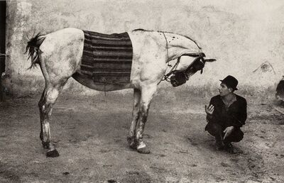 Josef Koudelka, 'Romania (Gypsy with Horse)', 1968