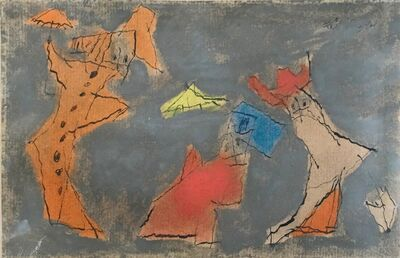 Lyonel Feininger, 'The Three Ghosts', 1950