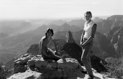 Lee Friedlander, 'Erik and Anna, Grand Canyon', 1977