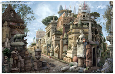 Emily Allchurch, 'Sic Transit Gloria Mundi (after Piranesi)', 2016