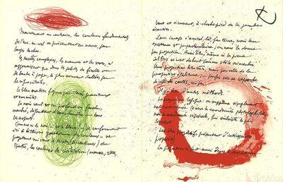 Joan Miró, 'Album 19 Original Lithographs Pages 10,13', 1961