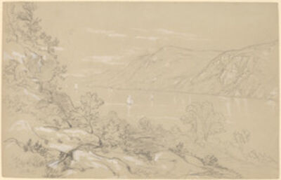 John William Casilear, 'North from Storm King', 1850s