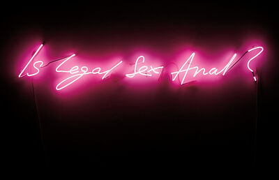 Tracey Emin, 'Is Legal Sex Anal?', 1998