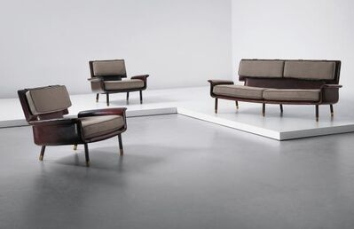 Jacques Quinet, 'Salon - Settee and Two Arm Chairs', 1963