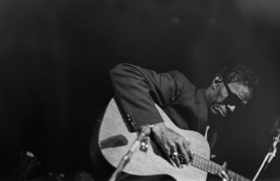 Larry Fink, 'Lightning Hopkins, March', 1962