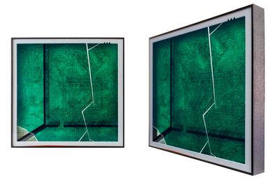 Peiqi Wang, 'Green glass and red box No.1', 2015