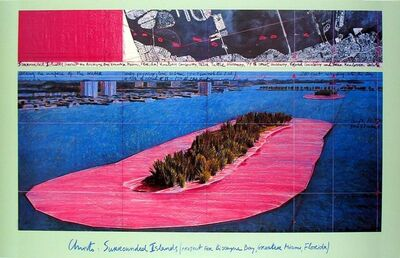 Christo, 'Surrounded Islands (1982)', 1983