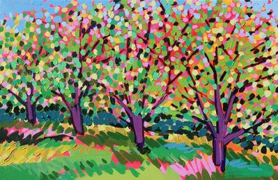Alexandrya Eaton, 'Purple Trees', 2019