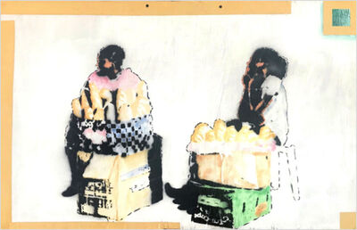 "Ricardo Kapuka, '""USSOMBIÇA M´BOLO / VENDENDO PÃO (SELLING BREAD)""', 2018"