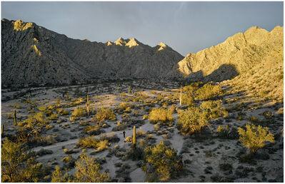 Mark Klett, 'Sunrise near Raven Butte, Gila Mountains, from Camino del Diablo'