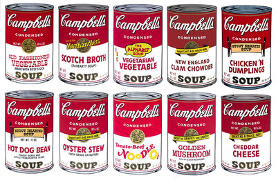 Andy Warhol, 'Campbell´s Soup II - Portfolio of 10', 1969