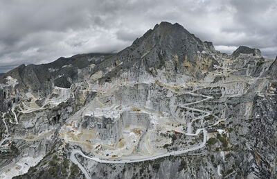 Edward Burtynsky, ' Carrara Marble Quarries, Carbonera Quarry #1, Carrara, Italy', 2016
