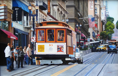 """Jesus Navarro, '""""San Francisco Cable Car""""', 2018"""