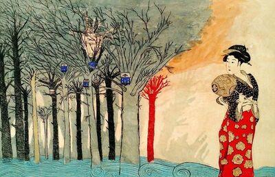 LORENZO MOYA, 'NEAR THE WATER, DELIRIUM', 2016