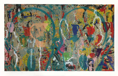 Jim Dine, 'Painters and Poets in the French', 2017