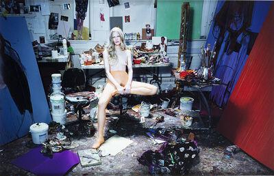 Miles Aldridge, 'Dal Portfolio 'Kristen at the studio of Chantal Joffe'', 2010