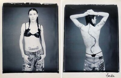 Maripol, 'Edwige (front and back)', 2002